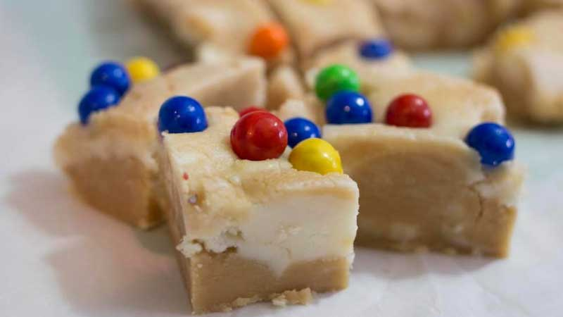 Peanut Butter & White Chocolate Fudge Recipe