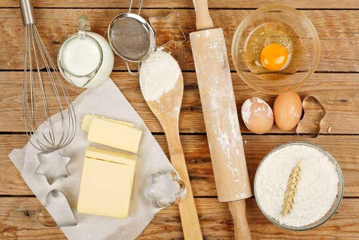 Basic Ingredients of Baking