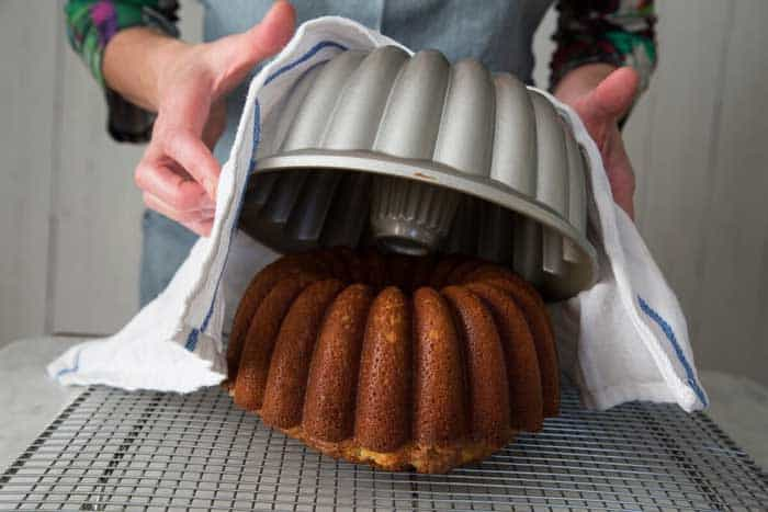 Remove Bundt Cake from the Pan