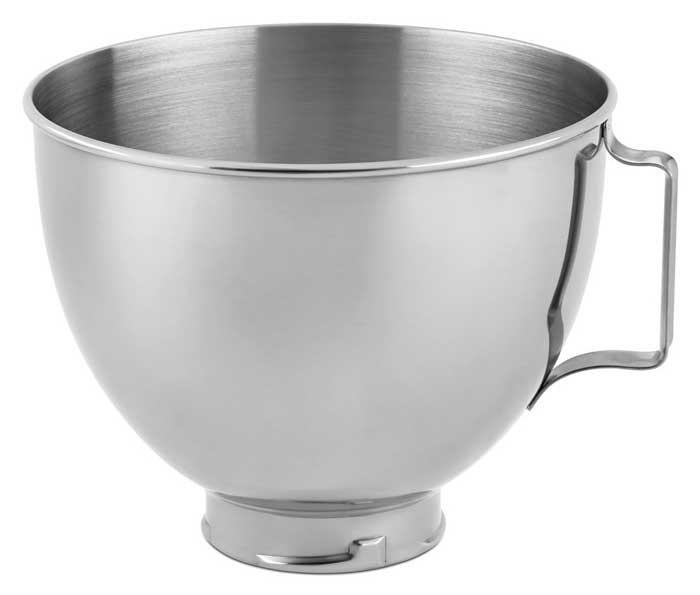Stainless Steel Bowl K45SBWH, 4.5-Quart