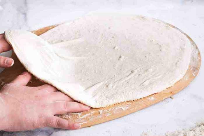 Stretch Pizza Dough