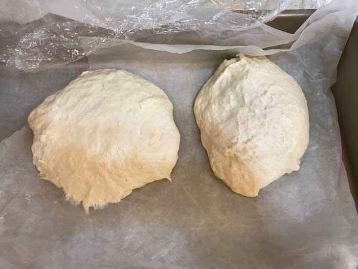 Sticky Pizza Dough