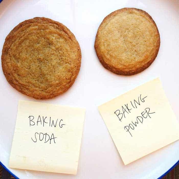 Use Baking Soda instead of Baking Powder