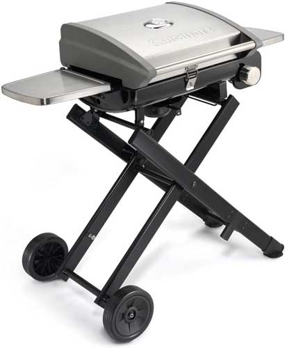 "Cuisinart CGG-240 All Foods, 27.3"" L x 38"" W x 23.5"" H, Roll-Away Gas Grill"