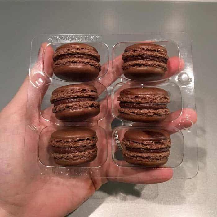 Freezing Your Macarons