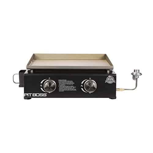 PIT BOSS PB336GS 2 Burner Table Top Gas Cast Iron Griddle