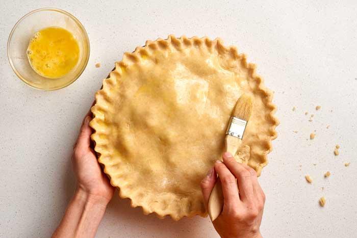 Pie Crust Eggs