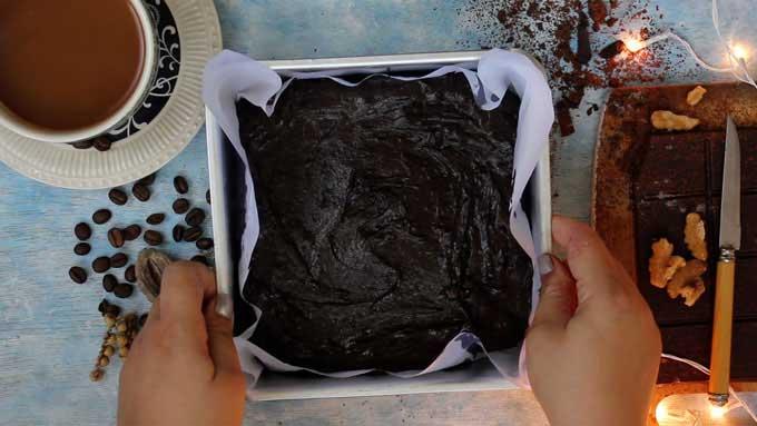 Soften Hard Brownies Using Wax Paper