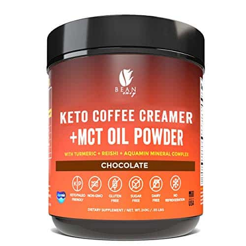 Bean Envy Keto Coffee Creamer - Coconut Milk Powder + MCT Oil Powder