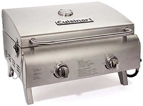 Cuisinart CGG-306 Chef's Style Propane Table Top Grill