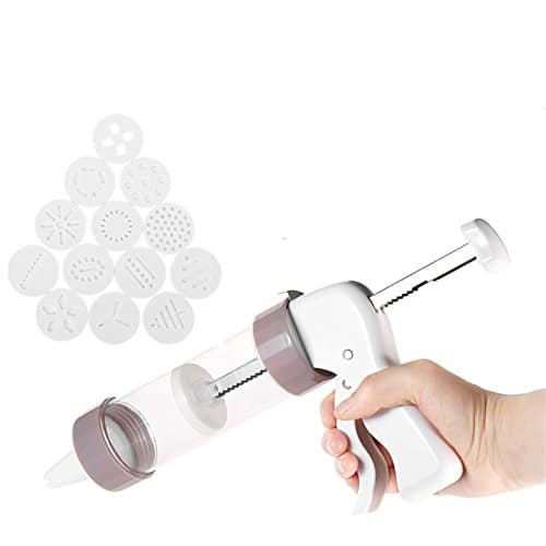 FantasyDay Biscuit Making and Icing Set Cookie Biscuit Press and Cake Icing Decorating Set