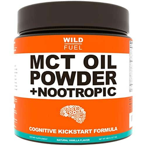 MCT Oil Powder Plus Nootropic Boosters