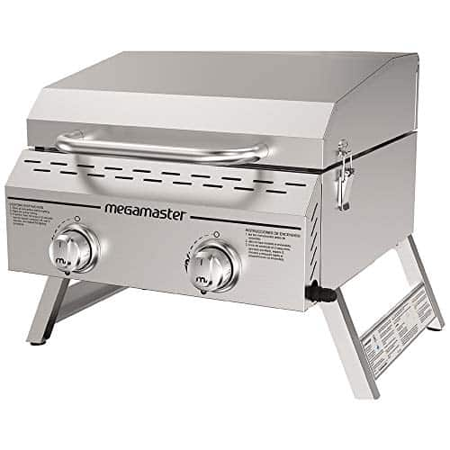 Megamaster 820-0033M Propane Gas Grill Stainless Steel