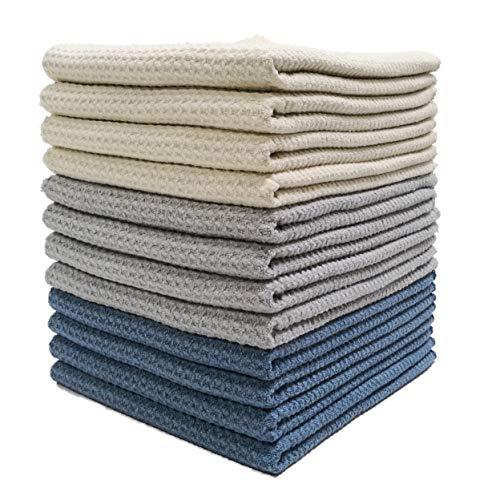 Polyte Premium Microfiber Kitchen Dish Hand Towel