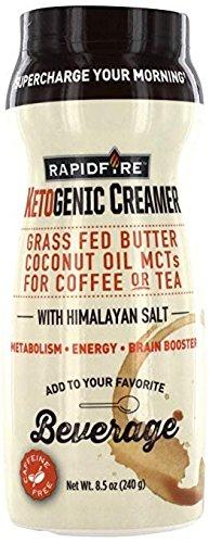 Rapid Fire Ketogenic Creamer for Coffee Or Tea