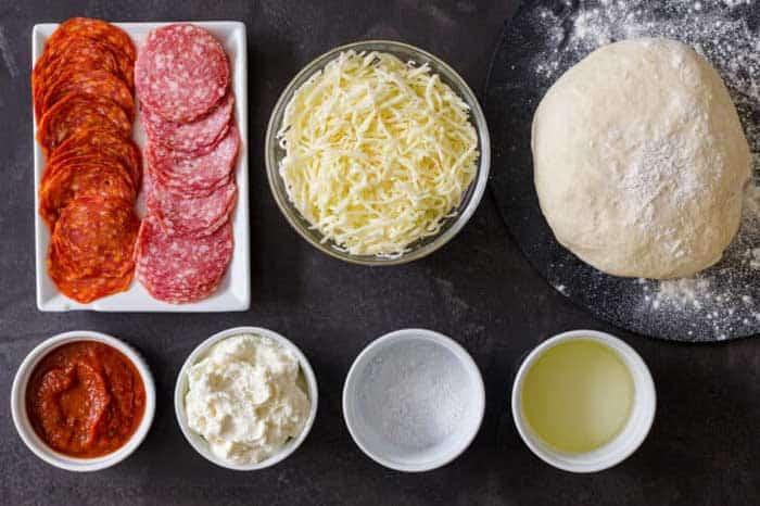calzone recipe Ingredients