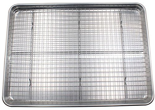 Checkered Chef Baking Sheet and Rack Set