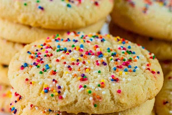 Classic Cookie with Sprinkles
