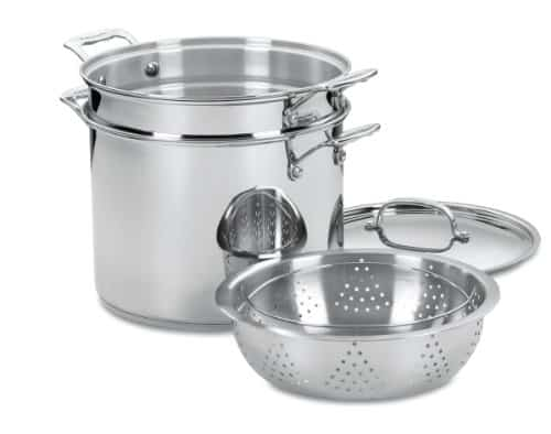 Cuisinart 77-412 Chef's Classic 12-Quart Pasta/Steamer Set