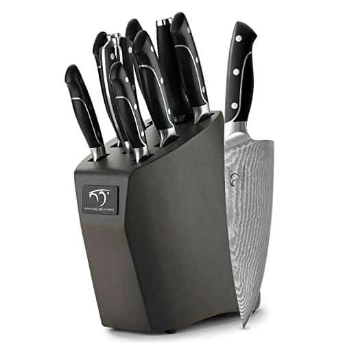 Damascus Knife Set from NANFANG BROTHERS