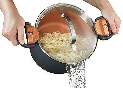 Gotham Steel 5-Quart Multipurpose Pasta Pot