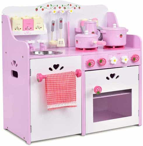 Costzon Kids Kitchen Playset