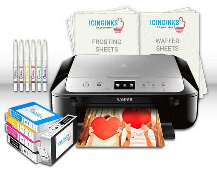 Edible Printer For Edible Ink and Paper