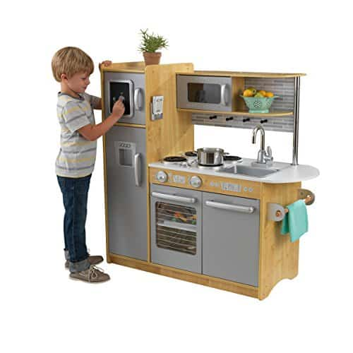 KidKraft 53298 Natural Wood Play Kitchen