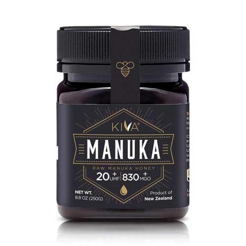 Kiva Raw Manuka Honey, Certified