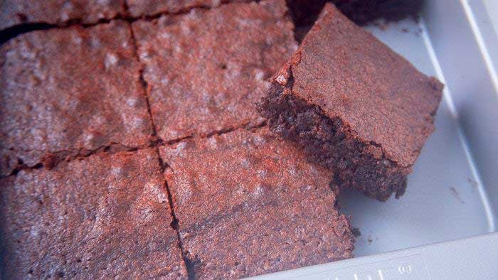 Make Brownies without Oil