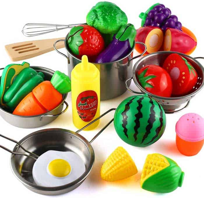 Play Kitchen Accessories Set