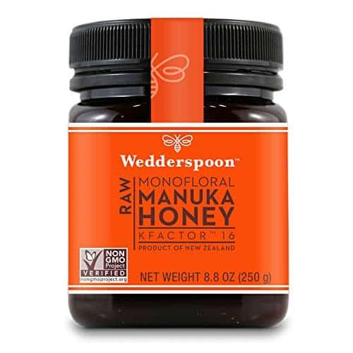 Wedderspoon Raw Premium Unpasteurized Manuka Honey