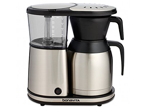 BonavitaBV1900TS 8-Cup One-Touch Coffee Maker Featuring Thermal Carafe, Stainless Steel