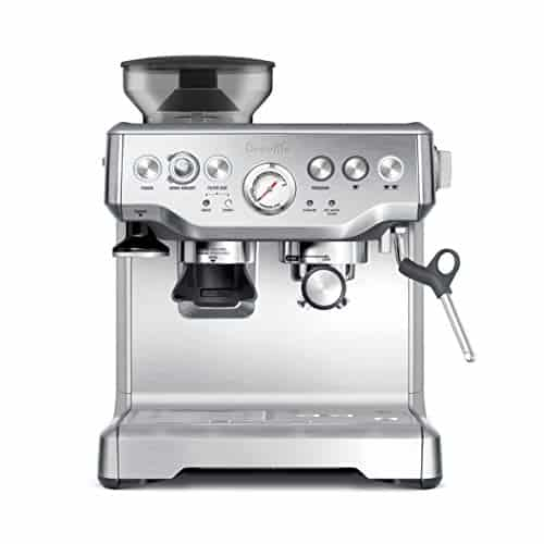 Breville BES870XL Barista Express Espresso Machine, Large, Stainless Steel
