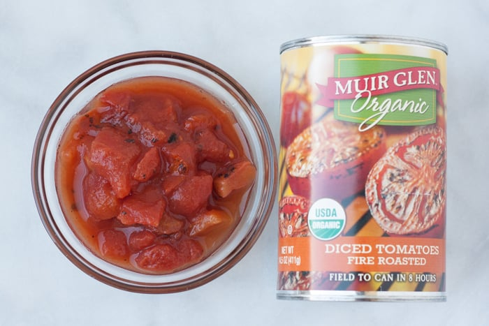Canned and un-canned tomatoes