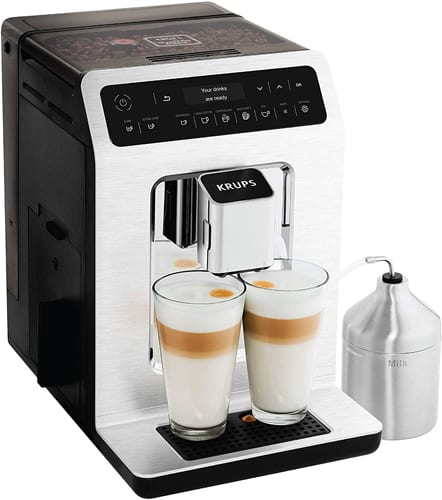 Krups Deluxe One-Touch Espresso and Cappuccino Machine- EA89