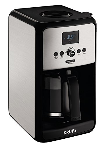 Krups EC314 Programmable Digital Coffee Maker