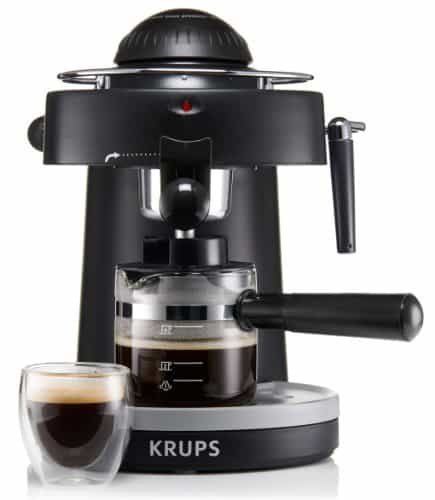 Krups Steam Espresso Machine with Frothing Nozzle- XP100050