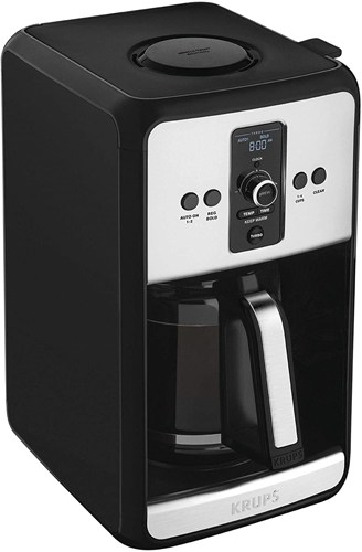 Krups Turbo Savoy 12 Cup Programmable Coffee Maker- EC411050