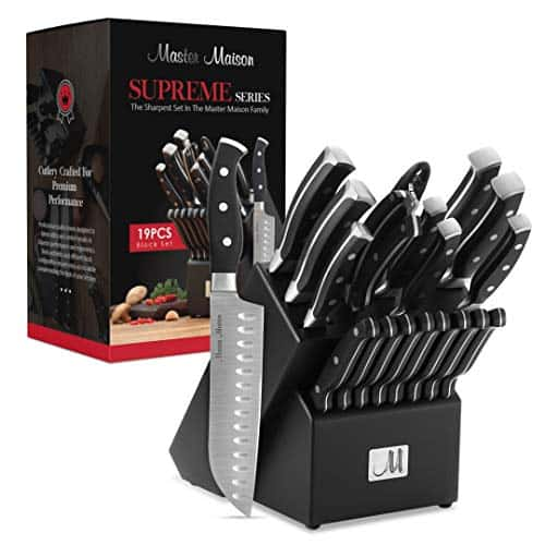 Master Maison 19-Piece Knife Set