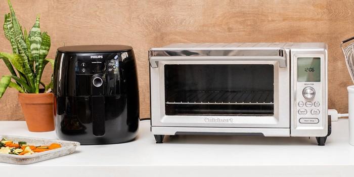 Microwave vs. air fryer