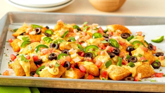 Pizza roll nachos