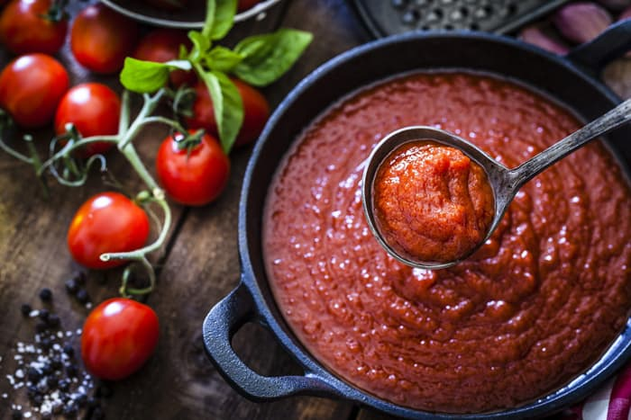 Raw or Cooked sauce