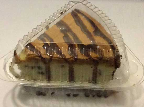 cheesecake in container