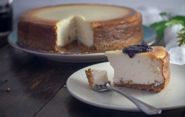 defrost cheesecake