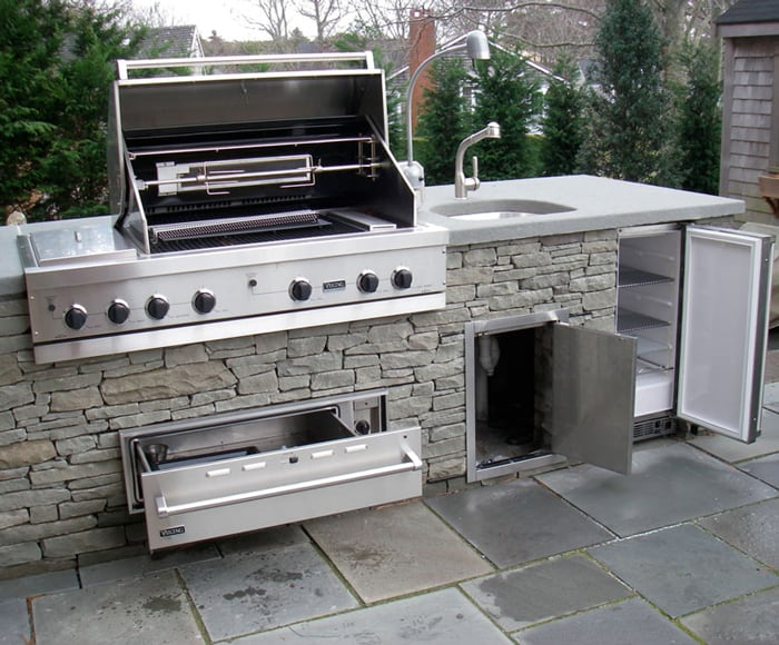 Connect Natural Gas Line to Grill