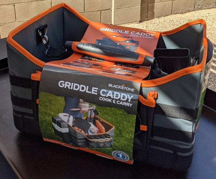 Griddle caddy