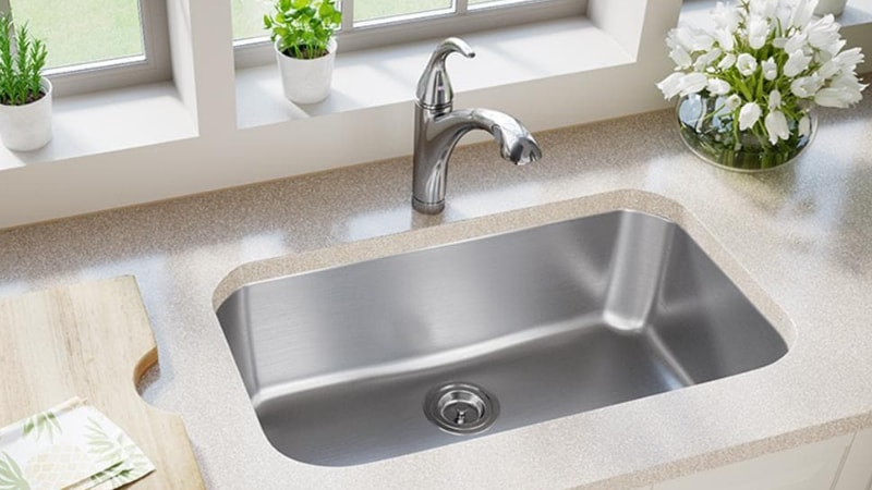 How to get rust stains out of stainless steel sink