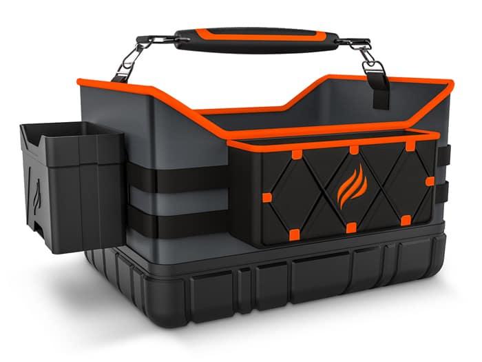Portable caddy bag