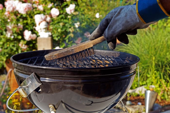 Remember to clean your grill after cooling down